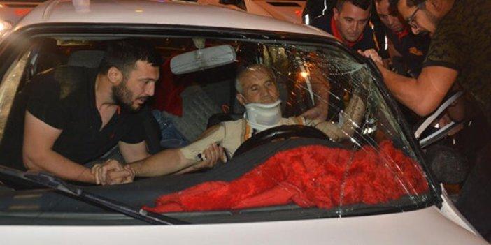 Adana'da korkutan kaza: 1 ölü, 6 yaralı