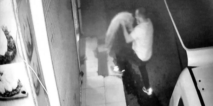 Komşu dükkandan çaldı abisinin işyerinde sattı