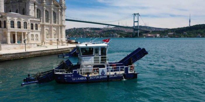 Beşiktaş'ın sahilleri İBB iş birliği ile temizleniyor