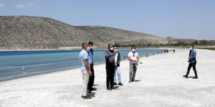 Burdur Valisi Şıldak: Salda Gölü önceki halinden kıyaslanamayacak ölçüde daha temiz