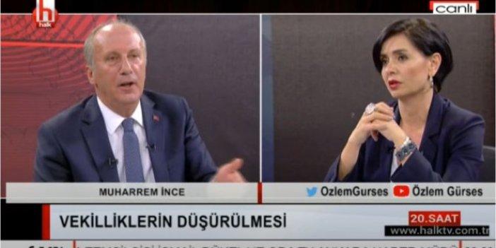 CHP'li Muharrem İnce, iktidarı ilginç benzetme ile eleştirdi