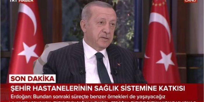 Cumhurbaşkanı Erdoğan katıldığı canlı yayında açıkladı: 5 Şehir Hastanesi daha yapılacak
