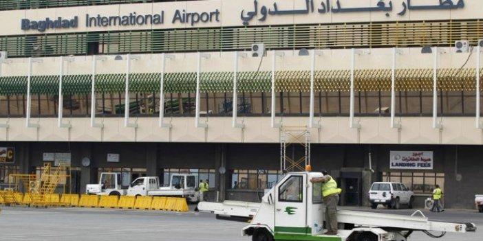 Bağdat Havalimanı'nın yakınına füze atıldı