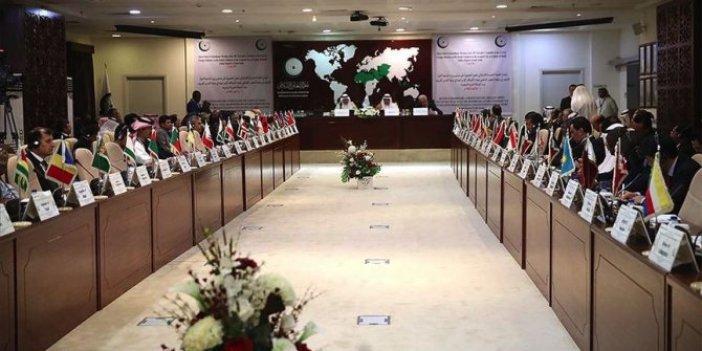 İslâm İşbirliği Teşkilatı Filistin'i konuşacak