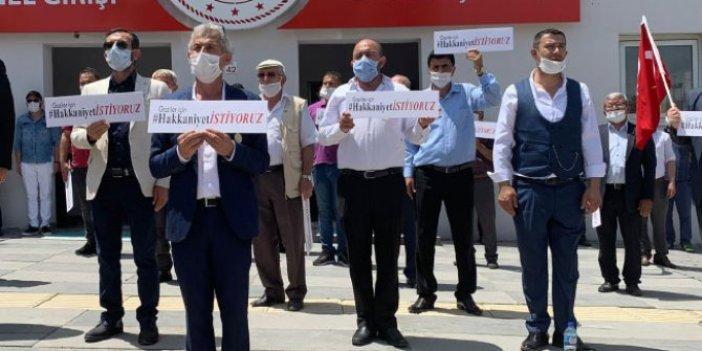 15 Temmuz gazilerinden eylem: Verilen sözler tutulmadı