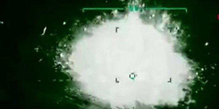 8 PKK'lı havadan böyle vuruldu