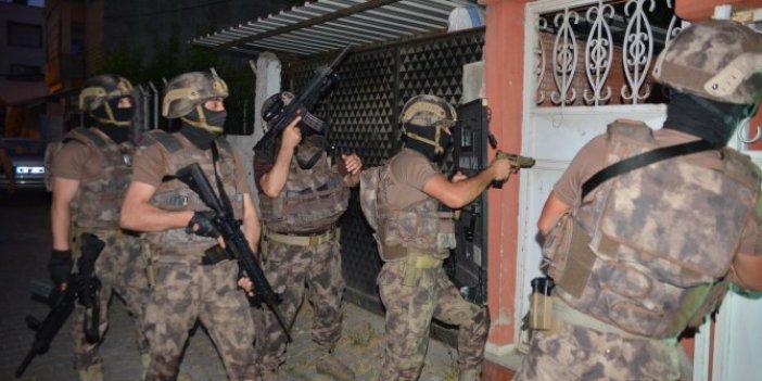 İŞİD'li teröristler kıskıvrak yakalandı