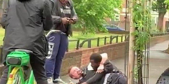 Londra'da işler tersine döndü, bu sefer darp edilen polisler oldu