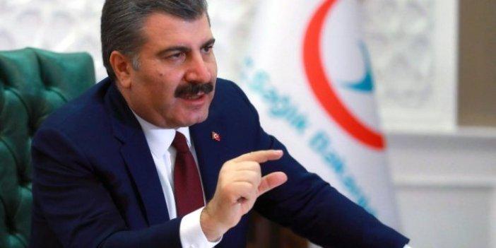 Türk Tabipleri Birliği'nden Fahrettin Koca'nın paylaştığı verilerle ilgili flaş iddia