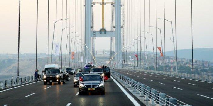 Osmangazi Köprüsü'ne ABD endeksli zam
