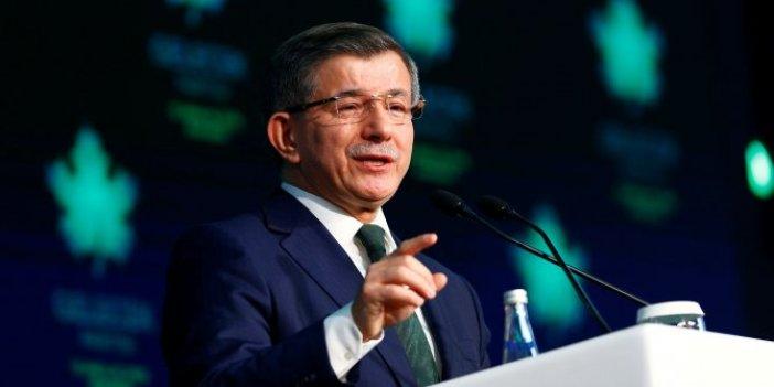 Ahmet Davutoğlu'ndan 'Suriye' açıklaması