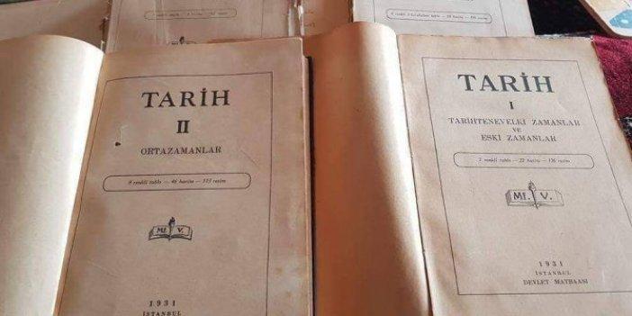 İşte Atatürk'ün yasaklanan tarih kitapları!