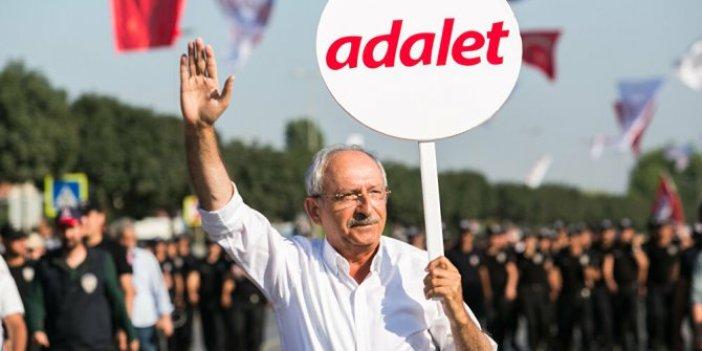 Kılıçdaroğlu'ndan 'Adalet Yürüyüşü' mesajı