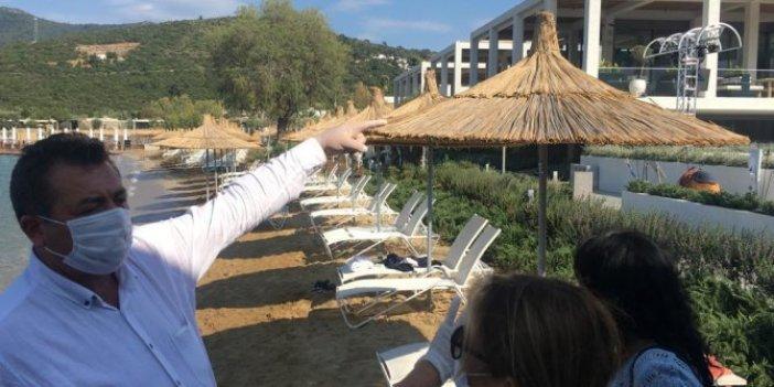 CHP'li vekilden büyük iddia: Bakan Ersoy, halka ait araziyi kendi oteline dahil etti