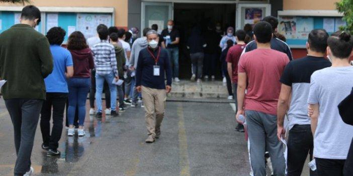 Sınavda korona paniği: Test pozitif çıktı: Sınıftakilerin tümü karantinaya alındı