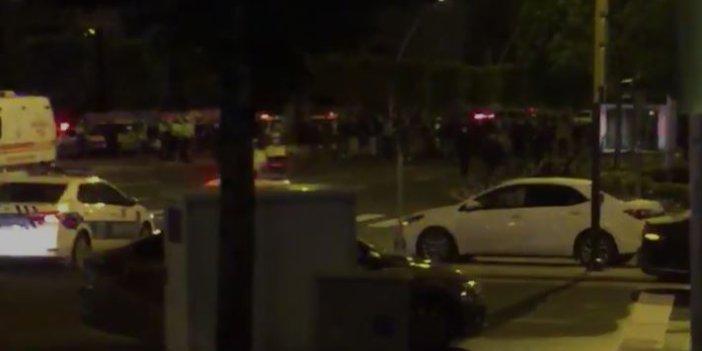 Flaş… Flaş.. AKP Genel Merkezi önündeki gazilere polis müdahalesi: 2 yaralı