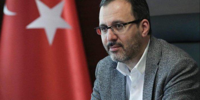 "Bakan Kasapoğlu'ndan Muslera'ya ""geçmiş olsun"" telefonu"