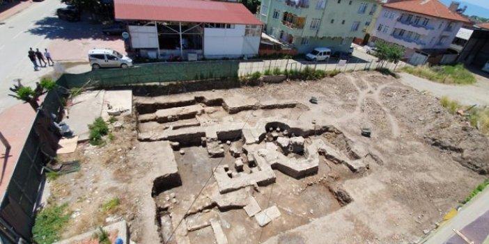İnşaat kazısı sırasında bulundu: Bizans dönemine ait olduğu tahmin ediliyor