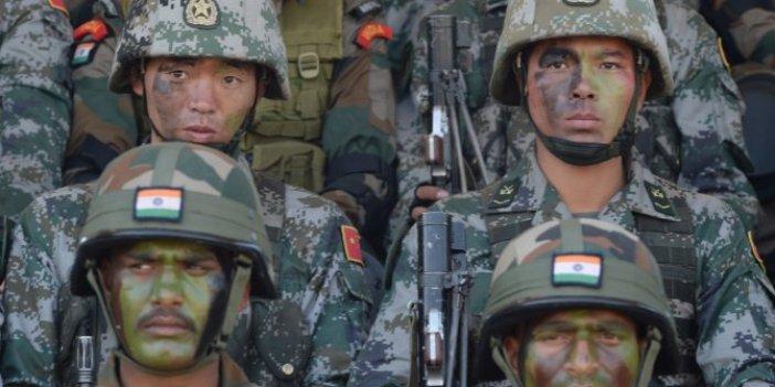 Flaş... Flaş... Başımıza bir de bu çıktı: Çin ile Hindistan arasında savaş başladı