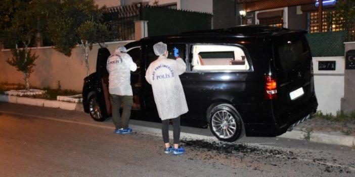 İzmir'de İHF Başkanı'nın aracına silahlı saldırı
