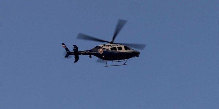 Helikopter destekli uyuşturucu operasyonu