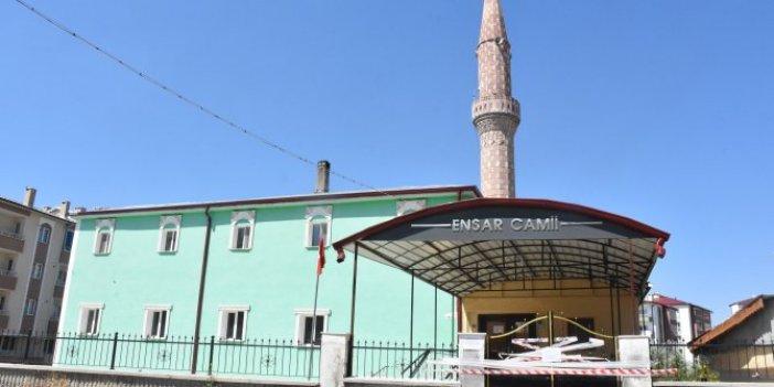 Sivas'ta keneler camiyi ibadete kapattı