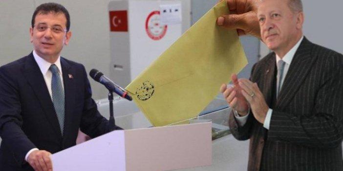 """""""Erdoğan - İmamoğlu yarışırsa, sonuç belli: İYİ Parti yükselişte, MHP baraj altında kalabilir"""""""