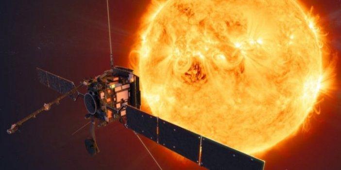 Güneşin fotoğrafı ilk kez yakından çekildi