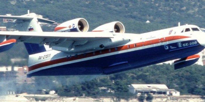 Yangın söndürme uçakları da Rusya'dan çıktı