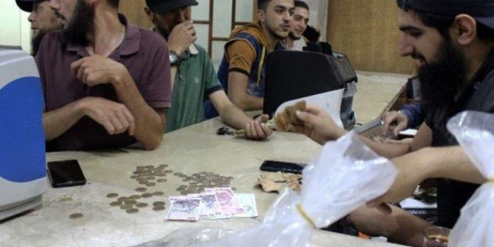 Türk Lirası İdlib'de kullanıma girdi