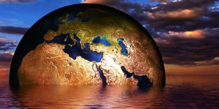 Bilim insanları uyardı: Dünya alarm veriyor, 0 derece olması gereken yer şu an 25 derece