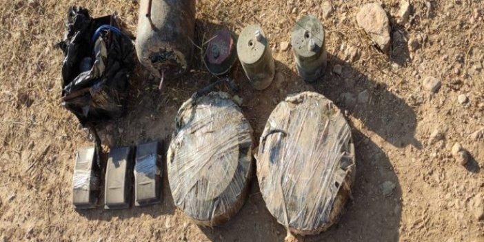 Akçakale'de 68 kilo patlayıcı bulundu