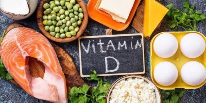 Vücutta D vitamini eksikse...