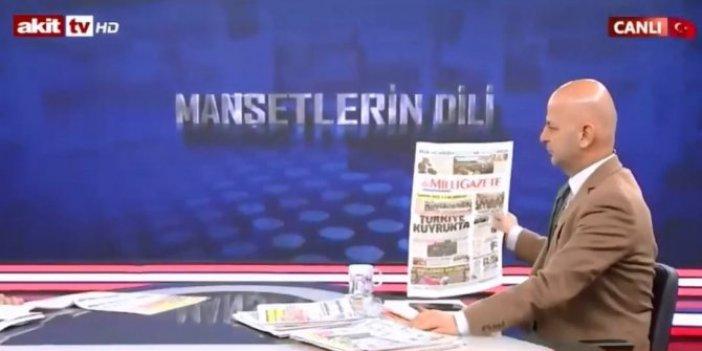 İktidara yakın medyada kavga çıktı: Yeni Şafak yazarı AKİT TV'deki program için öyle şeyler söyledi ki!