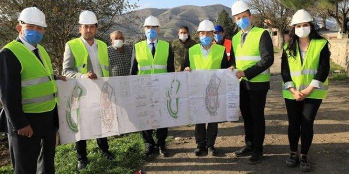 MHP'li Amasya Belediyesi'nden Serçoban türbesinin onarımı için 1 milyon 623 bin TL'lik ihale!