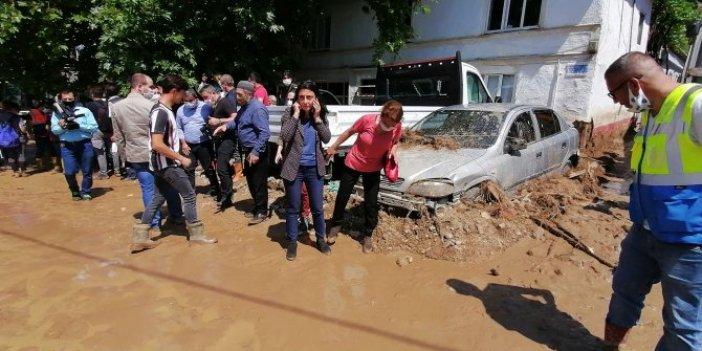 Afet bölgesine konvoyla gelen Süleyman Soylu'ya CHP'li vekilden sert tepki