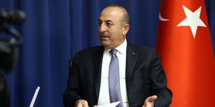 Dışişleri Bakanı Mevlüt Çavuşoğlu, Alman medyasına konuştu: O artık şansını kaybetti