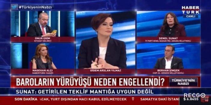 """İYİ Partili Şenol Sunat'tan canlı yayında uyarı: """"Bunu 2013'te FETÖ yapmak istiyordu"""""""