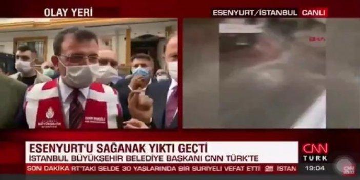 Ekrem İmamoğlu'nun CNN Türk muhabirine verdiği cevap sosyal medyanın gündemine oturdu
