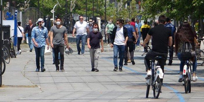 Bir şehirde daha maske takmak zorunlu