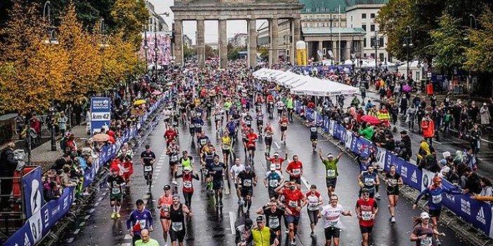 Berlin Maratonu'na korona engeli