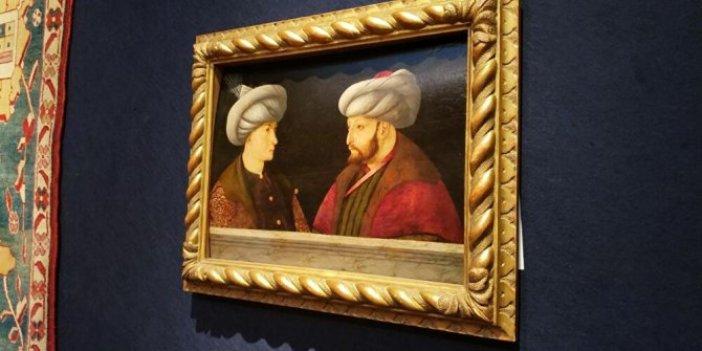Peki ama Fatih'in portresi neden Londra'daydı? İşte İBB'nin aldığı tablonun yüzyılları bulan serüveni!