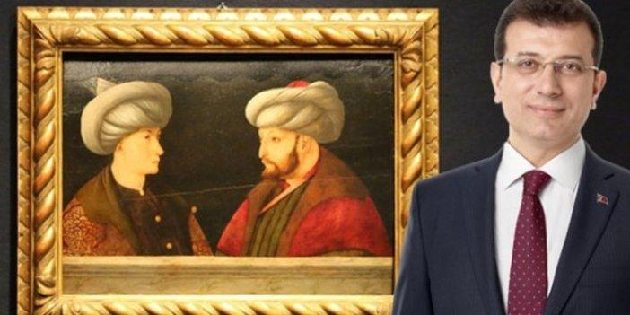 Yuh artık! İmamoğlu'nun Fatih Sultan Mehmet'in tablosunu satın almasını böyle kötülediler