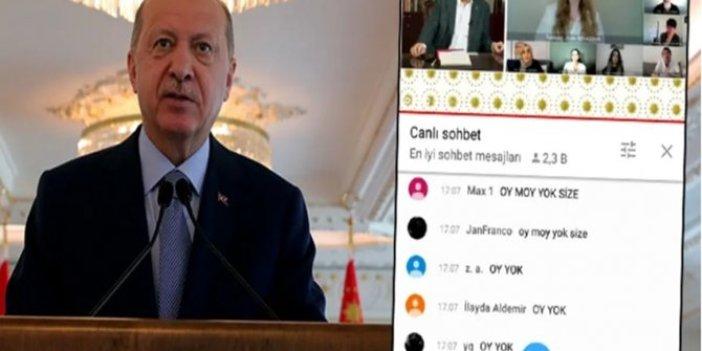 Z kuşağından Tayyip Erdoğan'a canlı yayın sürprizi: #OyMoyYok Twitter yıkıldı...