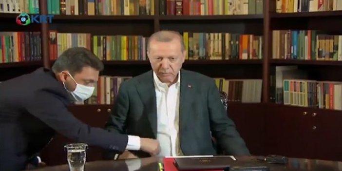 Tayyip Erdoğan'ın YKS yayını öncesi büyük seferberlik! O anlar böyle görüntülendi