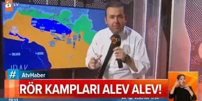 Sınıra gidemeyen ATV böyle komik duruma düştü, sınırdan değil stüdyodan canlı yayın