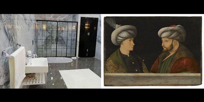 Fatih Sultan Mehmet'in portresi mi, kayyumun banyosu mu? Sizce hangisi israf?