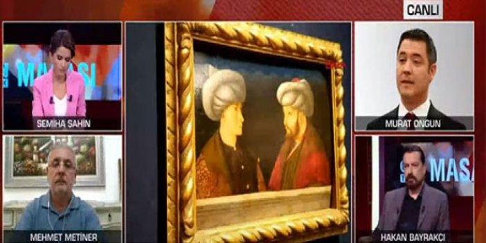 Fatih Sultan Mehmet'in portresini bir tane sanat tarihçisinin olmadığı programda tartıştılar… Türkiye'deki televizyonların içler acısı hali