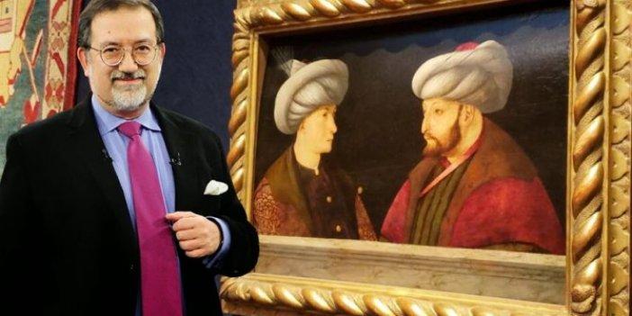 Murat Bardakçı tablo üzerinden İlber Ortaylı ile polemiğe girdi: 'Fatih'in karşısındaki Cem Sultan değil'