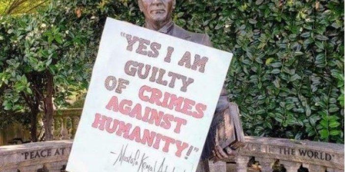 Flaş gelişme... Atatürk heykeline saldıranlar belli oldu